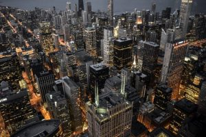 """בניינים בעיר שיקגו, ארה""""ב"""
