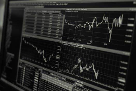 גרף השקעות בשוק ההון