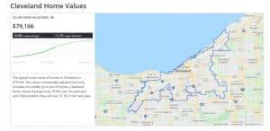 על פי האתר Zillow.com מחירי הבתים בקליבלנד צפויים לזנק ב-13% בשנת 2021